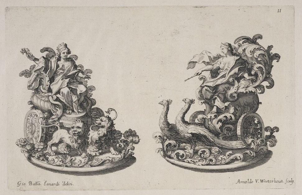 Trionfi di Cibele e Juno