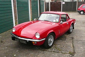 Triumph Spitfire Mark IV - 1972. Pimento Red w...