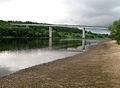 Trys Mergelės bridge to Panemunės Park - panoramio.jpg