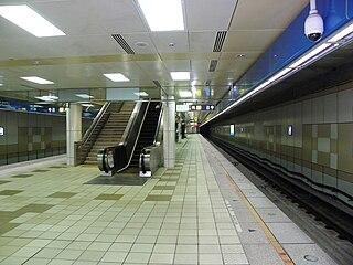Tucheng metro station