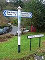 Tuckenhay Signpost - geograph.org.uk - 1618325.jpg