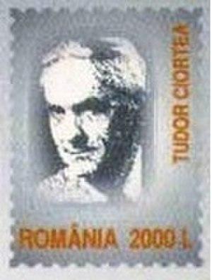 Tudor Ciortea - Tudor Ciortea on a Romanian stamp issued in 2003