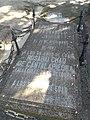 Tumba de Eduardo Chao, cementerio civil de Madrid.jpg