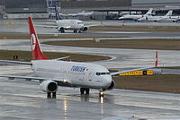TC-JFT - B738 - Turkish Airlines