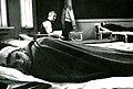 Tvangsevakuerte fra Finnmark ved Byåsen skole (1944) (11116513625).jpg
