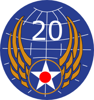 United States Army Air Forces in the Central Pacific Area - Image: Twentieth Air Force Emblem (World War II)