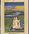 Two women embracing and using carrots as dildoes. Gouache Wellcome L0033073.jpg