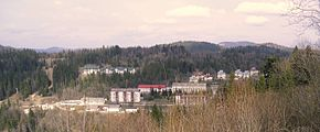 Tysovets (Skole Raion). Ski resort.JPG