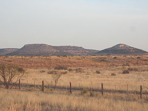 Tom Green County, Texas - View from U.S. Highway 87 northwest of San Angelo in Tom Green County