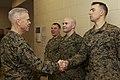 U.S. Marine Corps Gen. James F. Amos, left, the commandant of the Marine Corps, visits Marines at The Basic School at Marine Corps Base Quantico, Va., March 4, 2013 130304-M-LU710-009.jpg