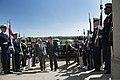 U.S. Secretary of Defense Chuck Hagel, center left, hosts an honor cordon for Poland Minister of Defense Tomasz Siemoniak, center right, at the Pentagon in Arlington, Va., April 17, 2014 140417-D-EV637-027.jpg