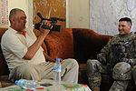 U.S. Soldiers speak with Iraqi security force leaders in Baghdad DVIDS178473.jpg