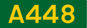 A448 road shield