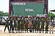 UNAMID Combined madel parad ( BANSRIC+BANMMRLU)