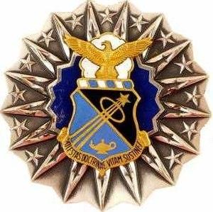 Air Force Academy Professor Badge - Image: USAFA Badge