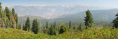 Sierra Nevada and Hume Lake