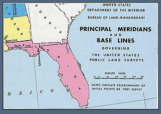 Tallahassee meridian Meridian of longitude
