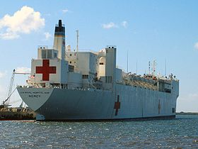 Image illustrative de l'article USNS Mercy (T-AH-19)