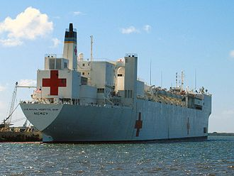 Second Geneva Convention - Hospital ship USNS ''Mercy'' of the United States Navy