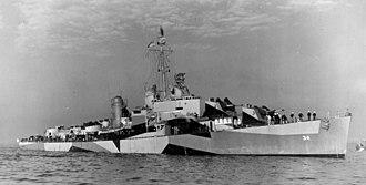 USS Aaron Ward (DM-34) - Image: USS Aaron Ward (DM 34)