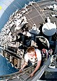 USS Constellation (CV-64) viewed from the main mast.jpg