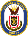 USS Curtis Wilbur DDG-54 Crest.png
