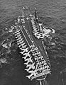 USS Franklin D. Roosevelt (CVA-42) underway in the Mediterranean Sea, in early 1959.jpg