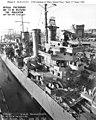 USS Helena (CL-50) at the Mare Island Naval Shipyard on 27 June 1942 (19-N-31213).jpg