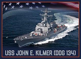 USS <i>John E. Kilmer</i> Guided missile destroyer