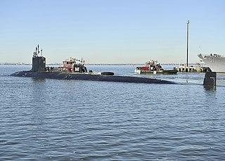 USS <i>Minnesota</i> (SSN-783) US Navy Virginia-class submarine