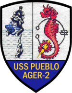 USS Pueblo AGER-2 Crest