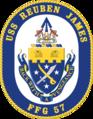 USS Reuben James. FFG-57 Crest.png