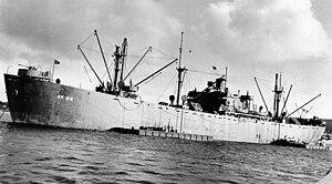 USS Sterope (AK-96) - Image: USS Sterope (AK 96)
