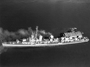 USS Waller (DD-466) - Waller in October 1942.