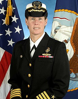 Holly Graf US Navy officer