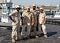US Navy 040131-N-3994W-002 Naval Security Forces Harbor Patrol Unit pulled three fishermen from Mina Salman Harbor after their boat capsized Jan. 31.jpg