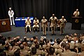 US Navy 080717-N-9818V-321 Vice Adm. John Cotton, chief of Navy Reserve and commander, Navy Reserve Force, right, introduces Sailor of the Year selectees.jpg