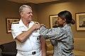 US Navy 090917-N-8273J-027 Chief of Naval Operations (CNO) Adm. Gary Roughead receives his annual seasonal flu vaccination.jpg