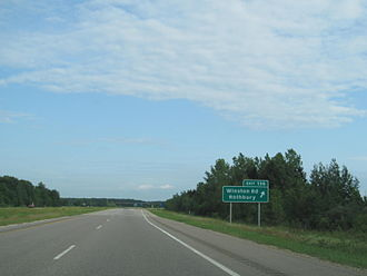 U.S. Route 31 in Michigan - Image: US Route 31 Winston Road (Michigan)