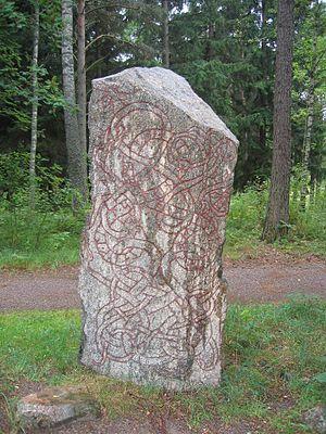 Lilla Vilunda runestones - Runestone U 294.