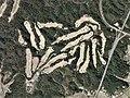 Ube 72 Country Club Ajisu Course, Yamaguchi Yamaguchi Aerial photograph.2012.jpg