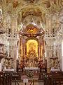 Uhldingen-Mühlhofen Wallfahrtskirche Birnau Innen Chor.JPG