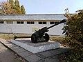 Ukr Kh Pervomaiskyi Monument Cannon 20.10.2018 (SU-HS).jpg