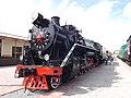Ukr Kharkiv Museum of Southern Railway Locomotive 2 2014 SU-HS.jpg