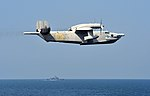 Ukranian Beriev Be-12 in flight over the Black Sea in September 2014.JPG