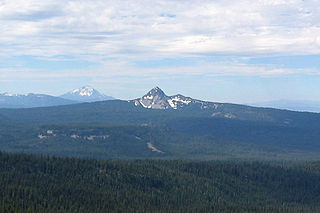 Union Peak mountain in United States of America