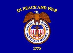 United States Merchant Marine - Flag of the United States Merchant Marine