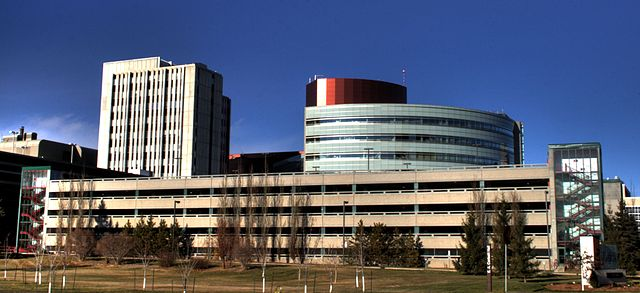 University Hospital Complex by WinterE229 WinterforceMedia [Public domain], from Wikimedia Commons