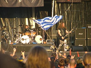 Unleashed beim Metalcamp 2007