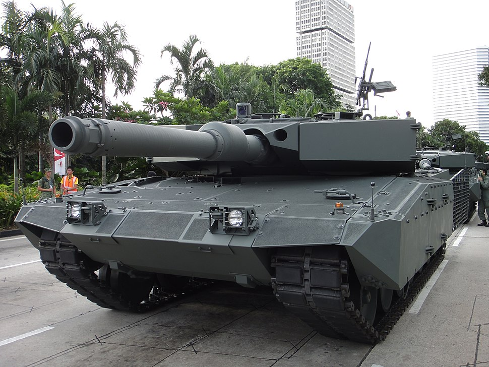 Upgraded Leopard 2A4 SG NDP 2010